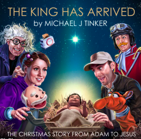 <em>The King Has Arrived</em>, by Michael J Tinker, album review: